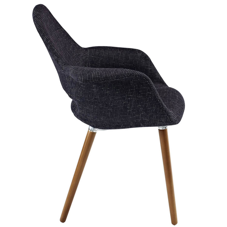 Modway Aegis Dining Armchair - Black