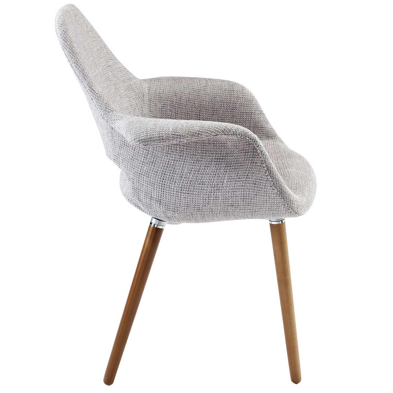 Modway Aegis Dining Armchair - Light Gray