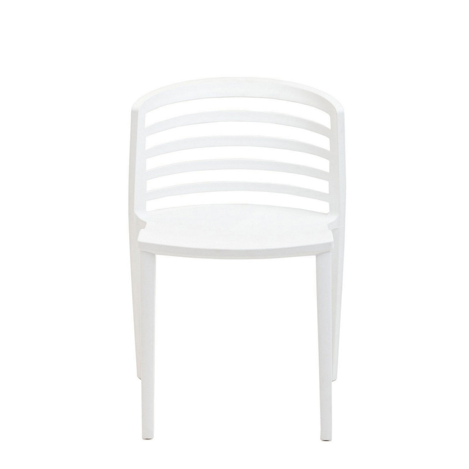 Modway Curvy Dining Side Chair - White