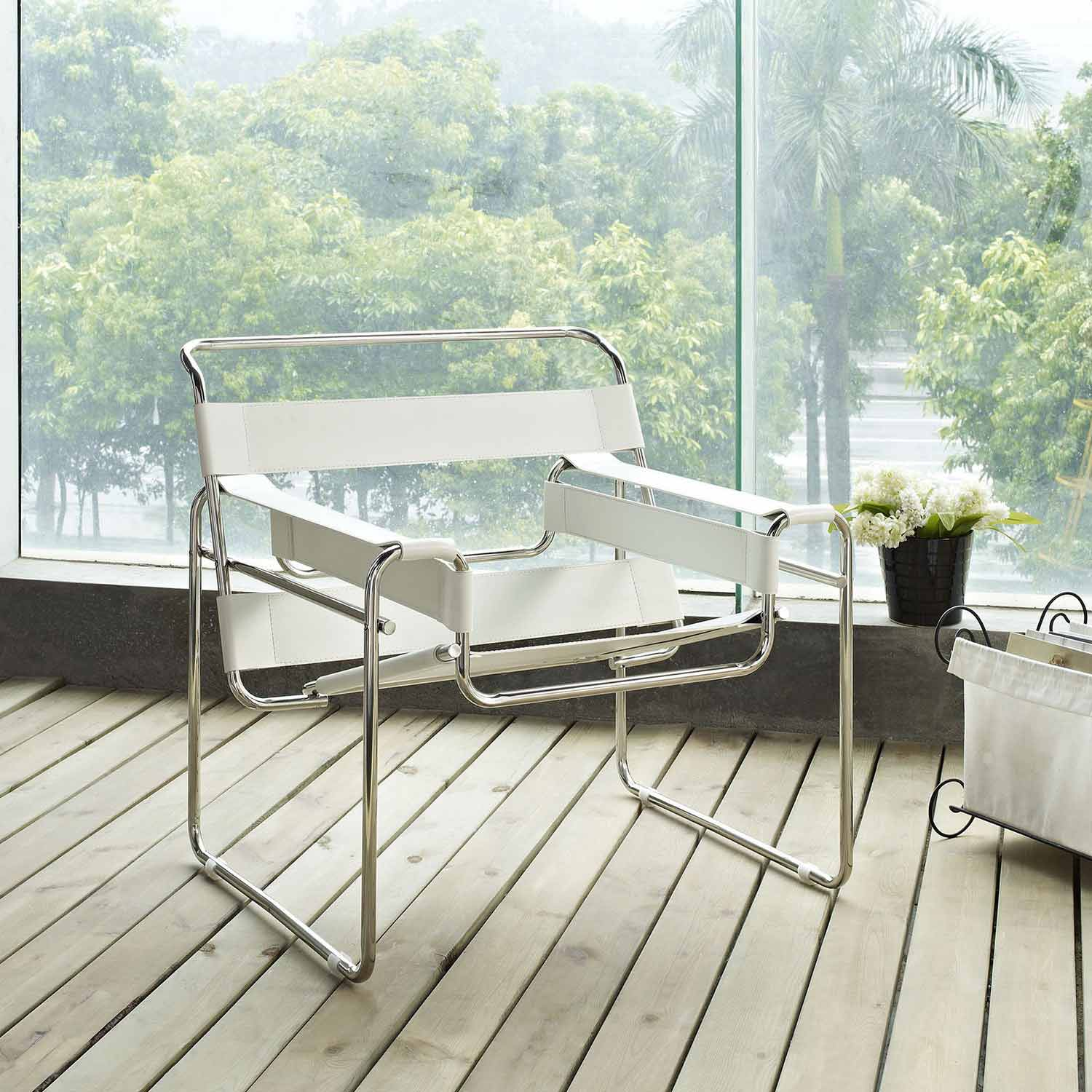 Modway Slingy Lounge Chair - White