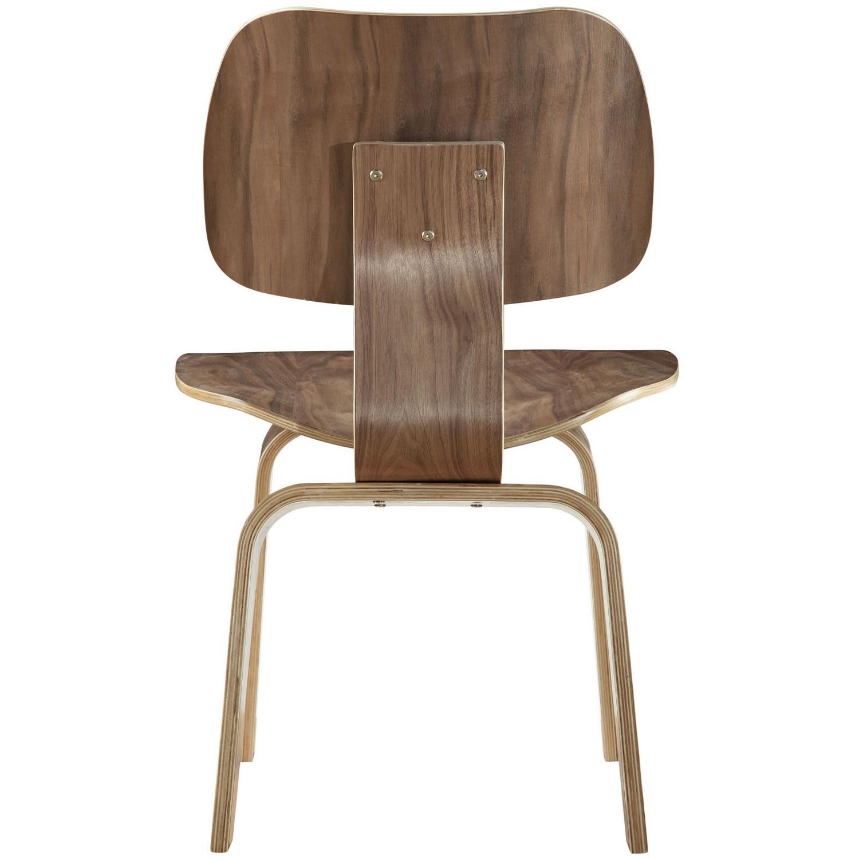 Modway Fathom Dining Side Chair - Walnut