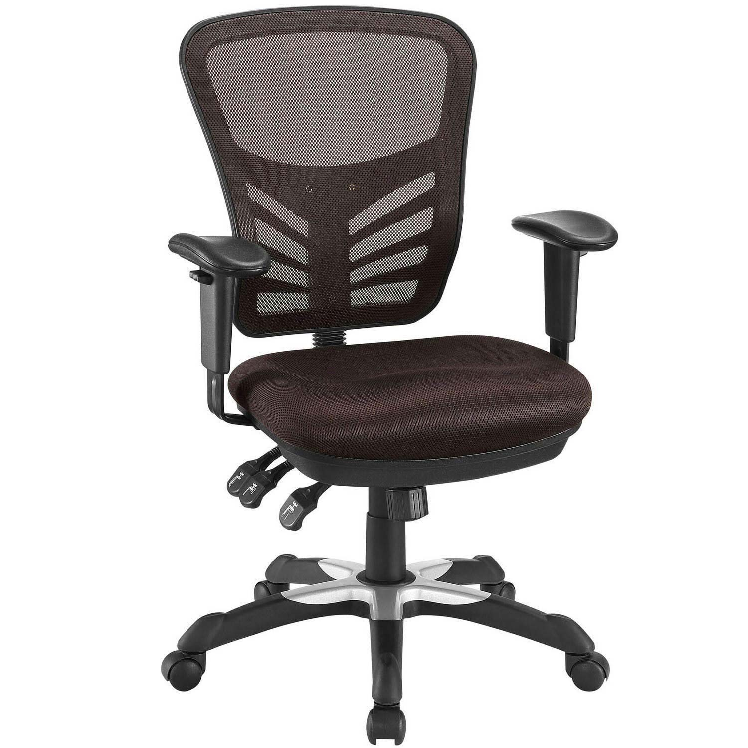 Modway Articulate Mesh Office Chair Brown