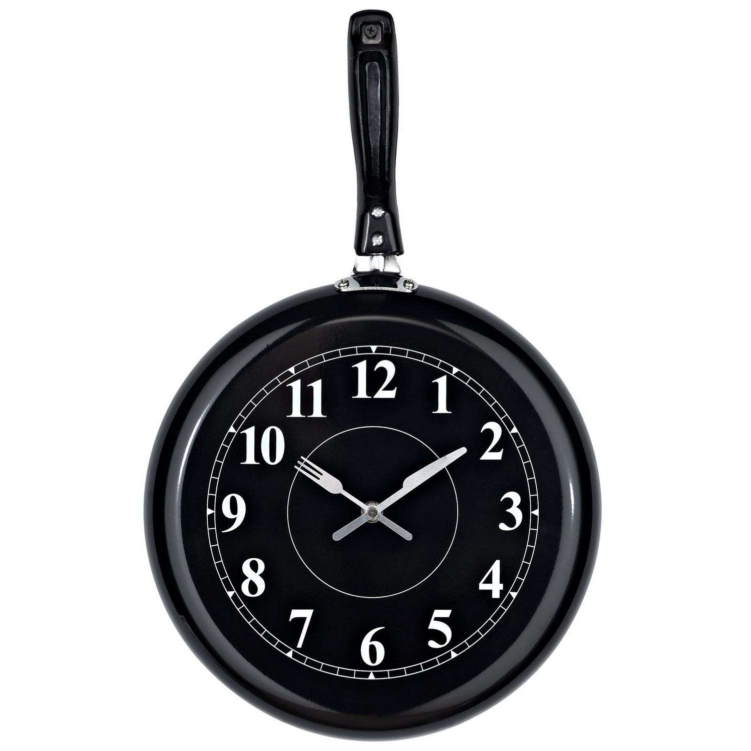 Modway Pan Wall Clock - Black