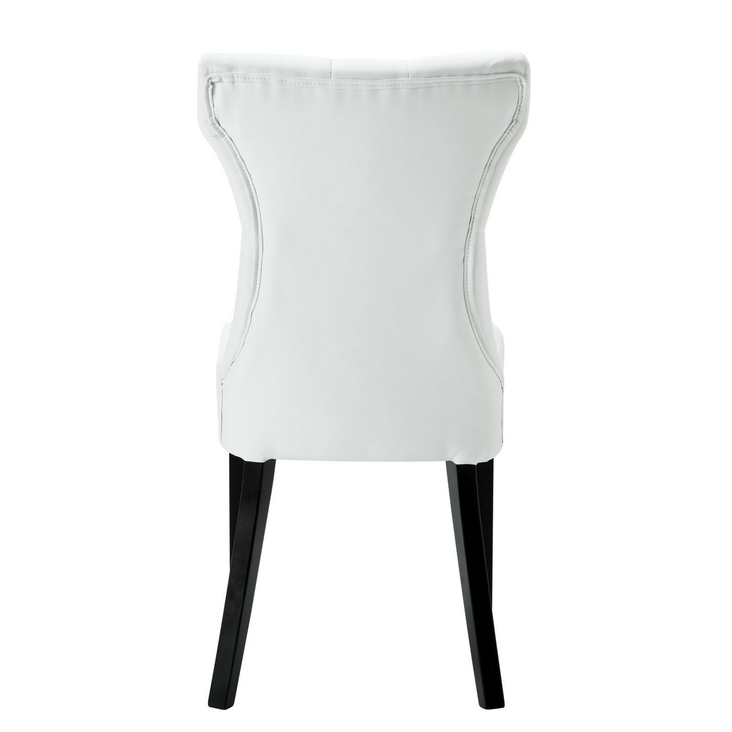 Modway Silhouette Dining Chairs Set of 2 - White