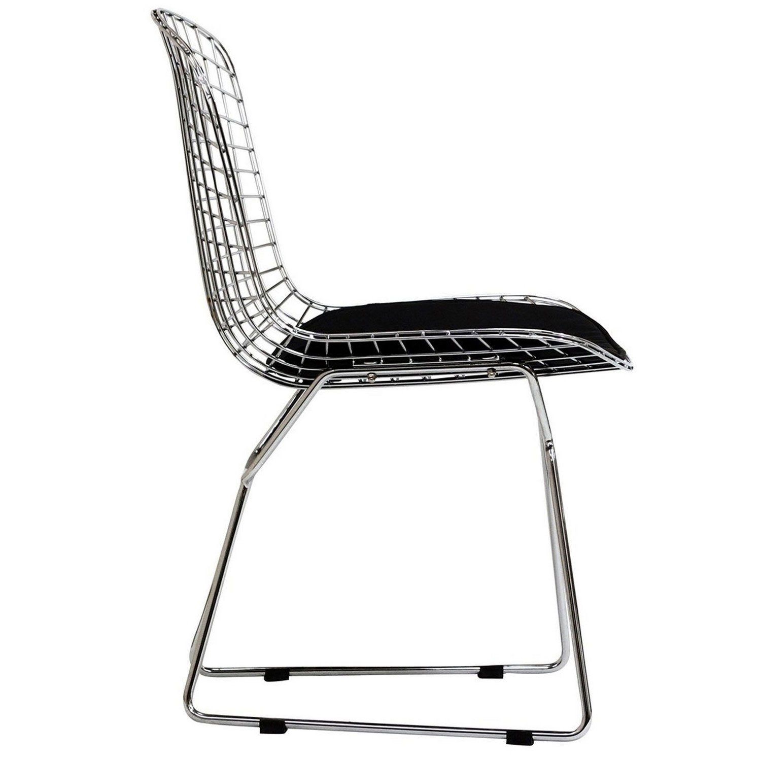 Modway CAD Dining Chairs Set of 2 - Black