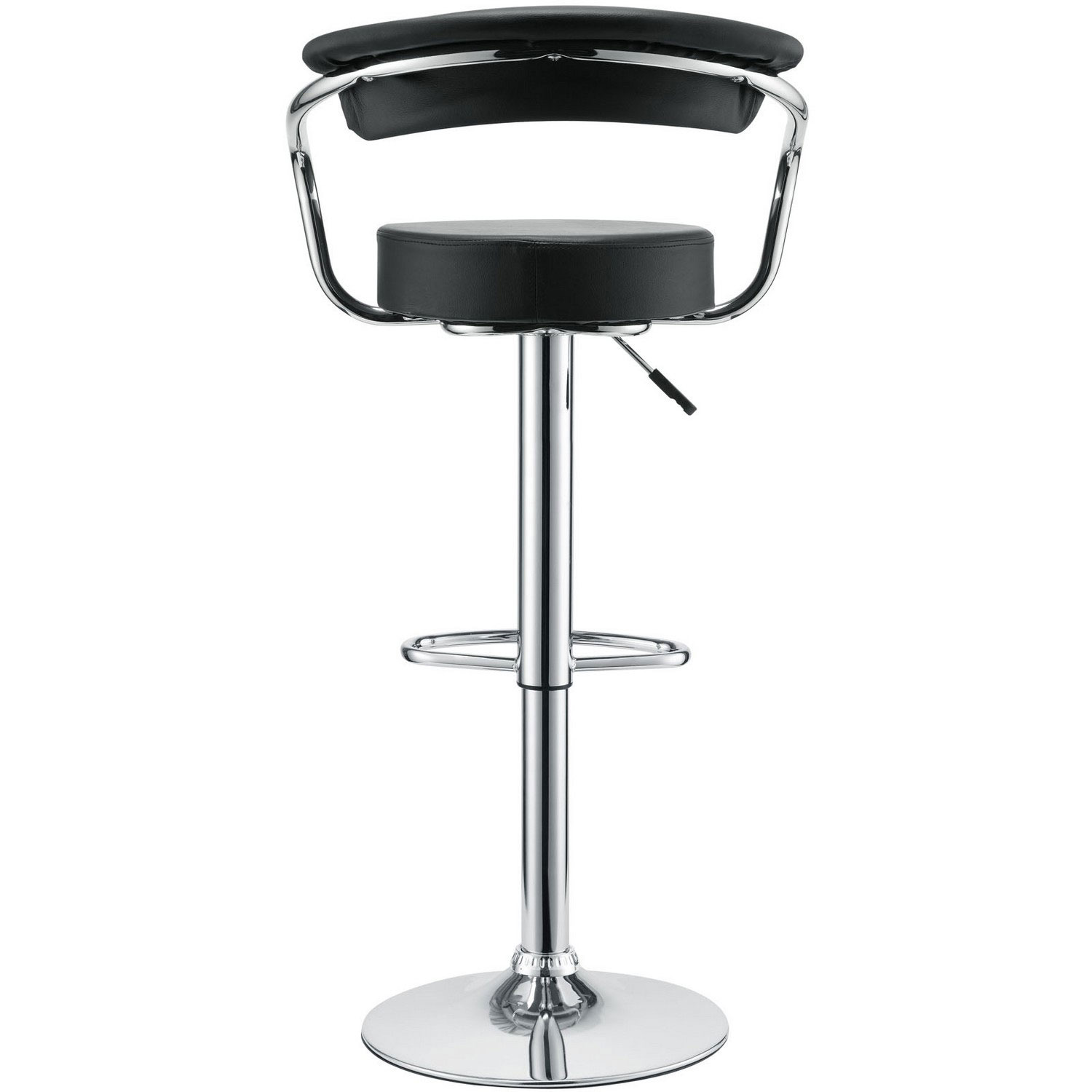 Modway Diner Bar Stool Set of 3 - Black