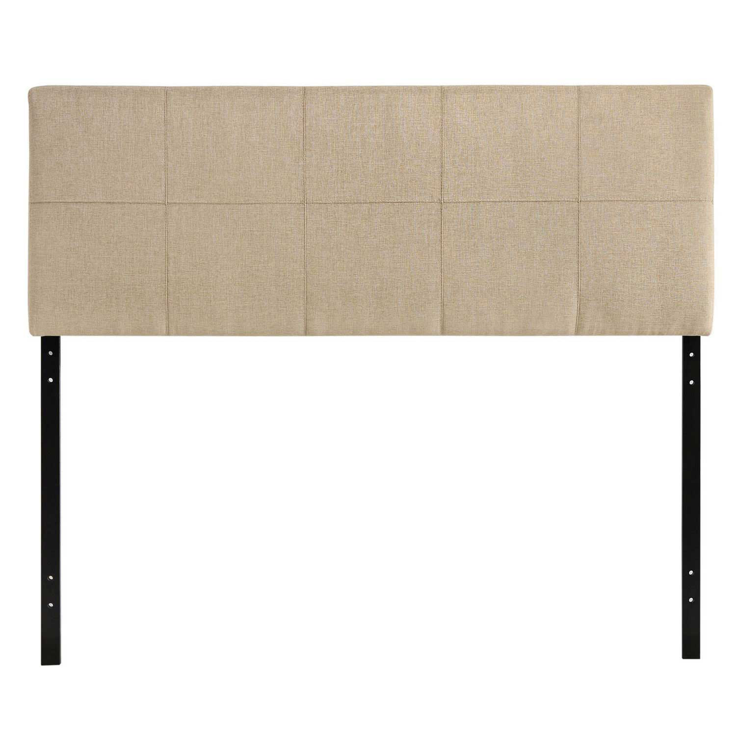 Modway Oliver Queen Fabric Headboard - Beige