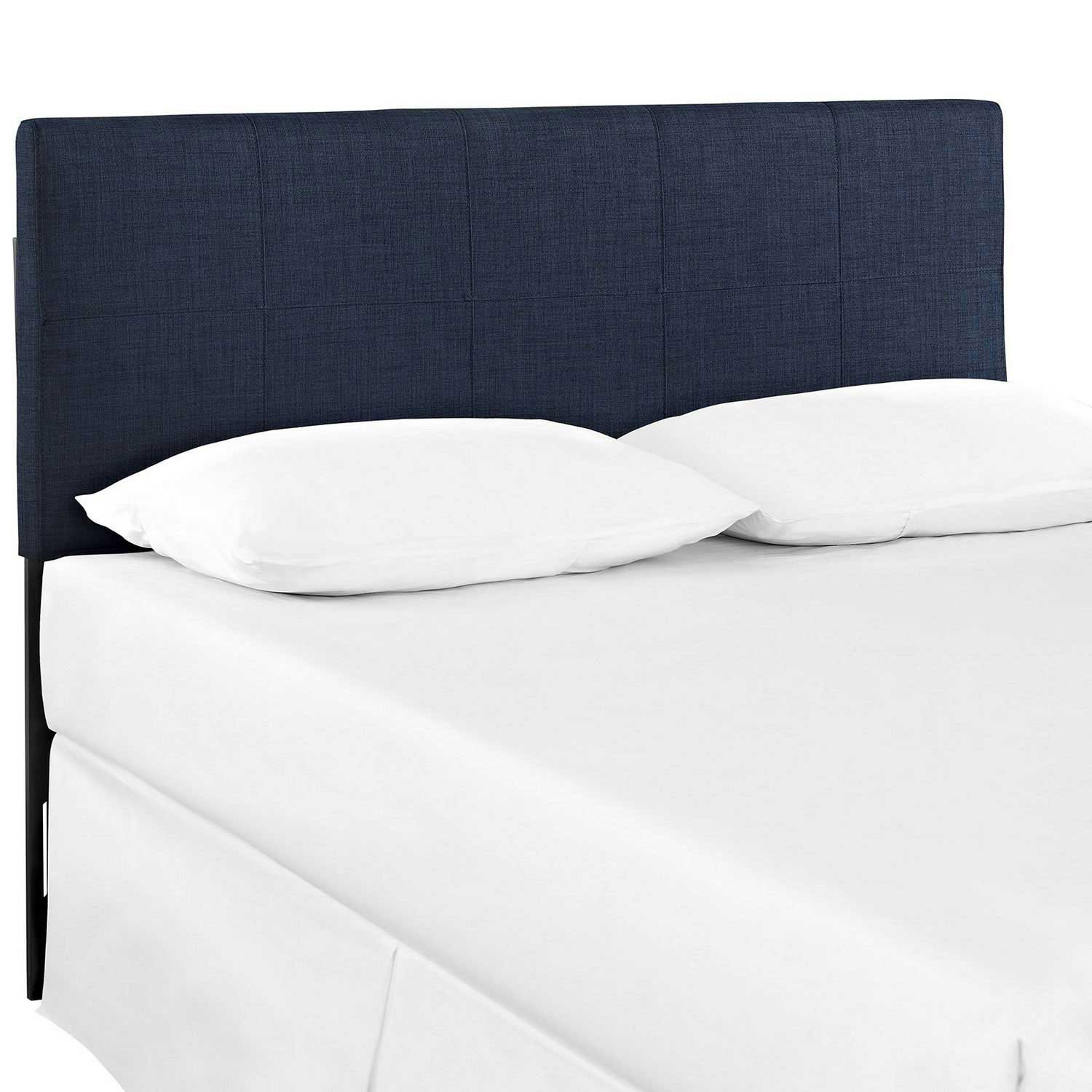 Modway Oliver Queen Fabric Headboard - Navy