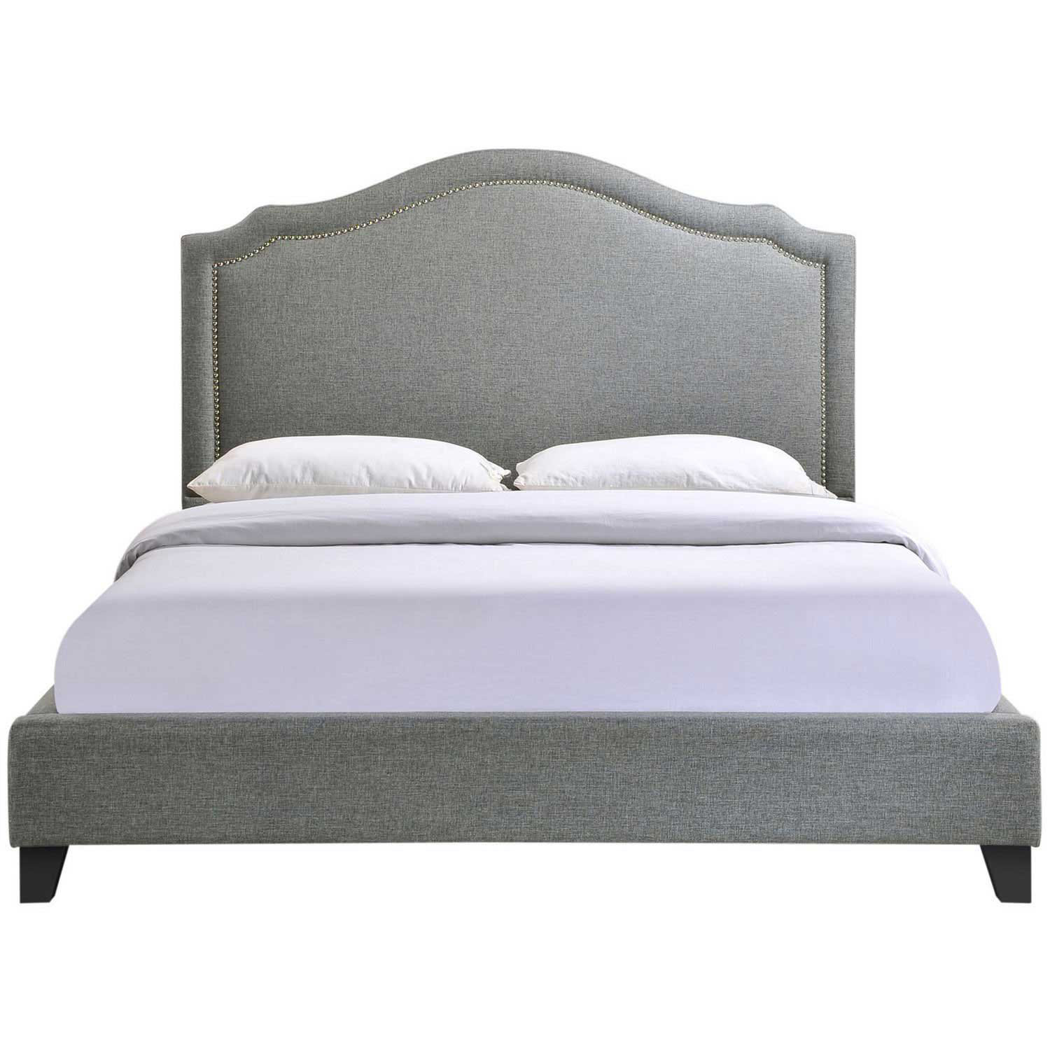 Modway Charlotte Queen Bed - Gray