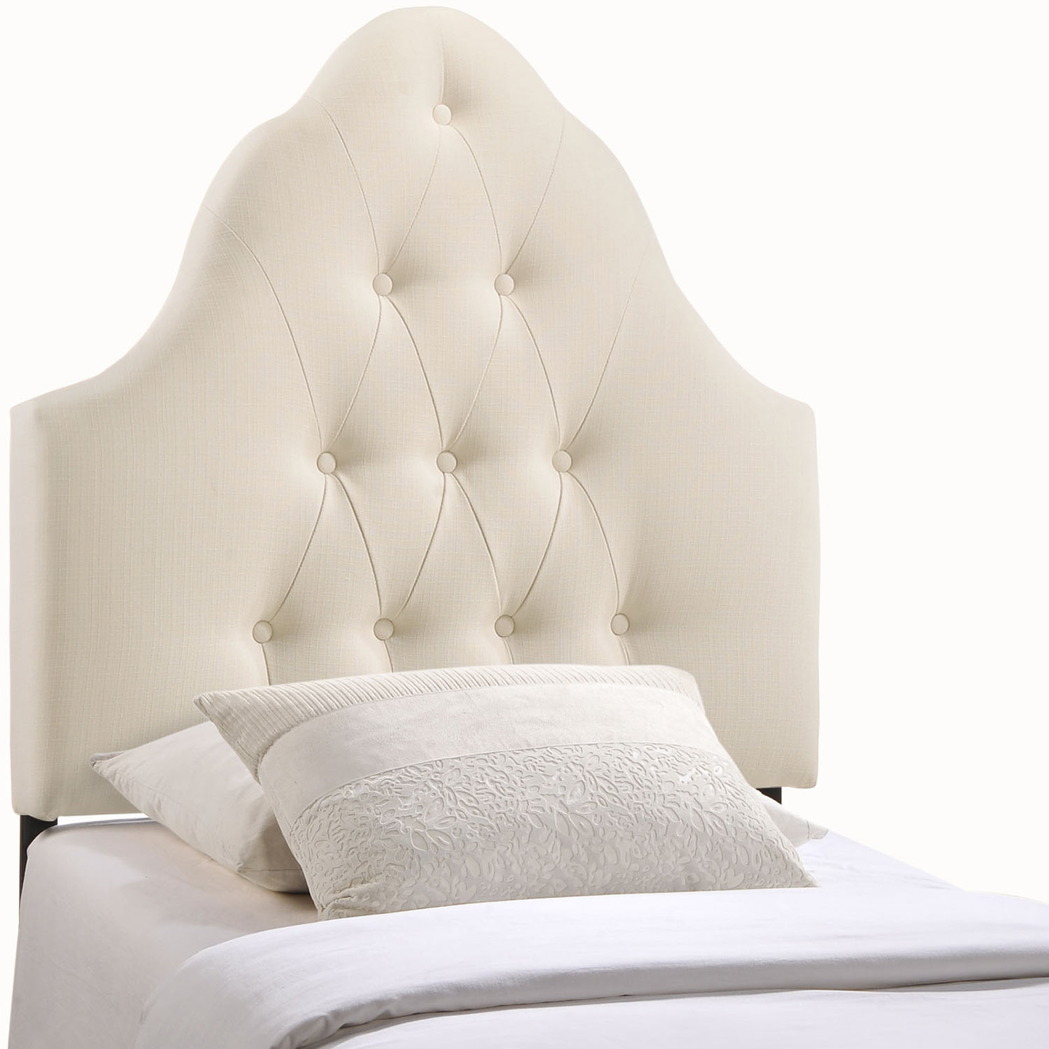 Modway Sovereign Fabric Headboard - Ivory