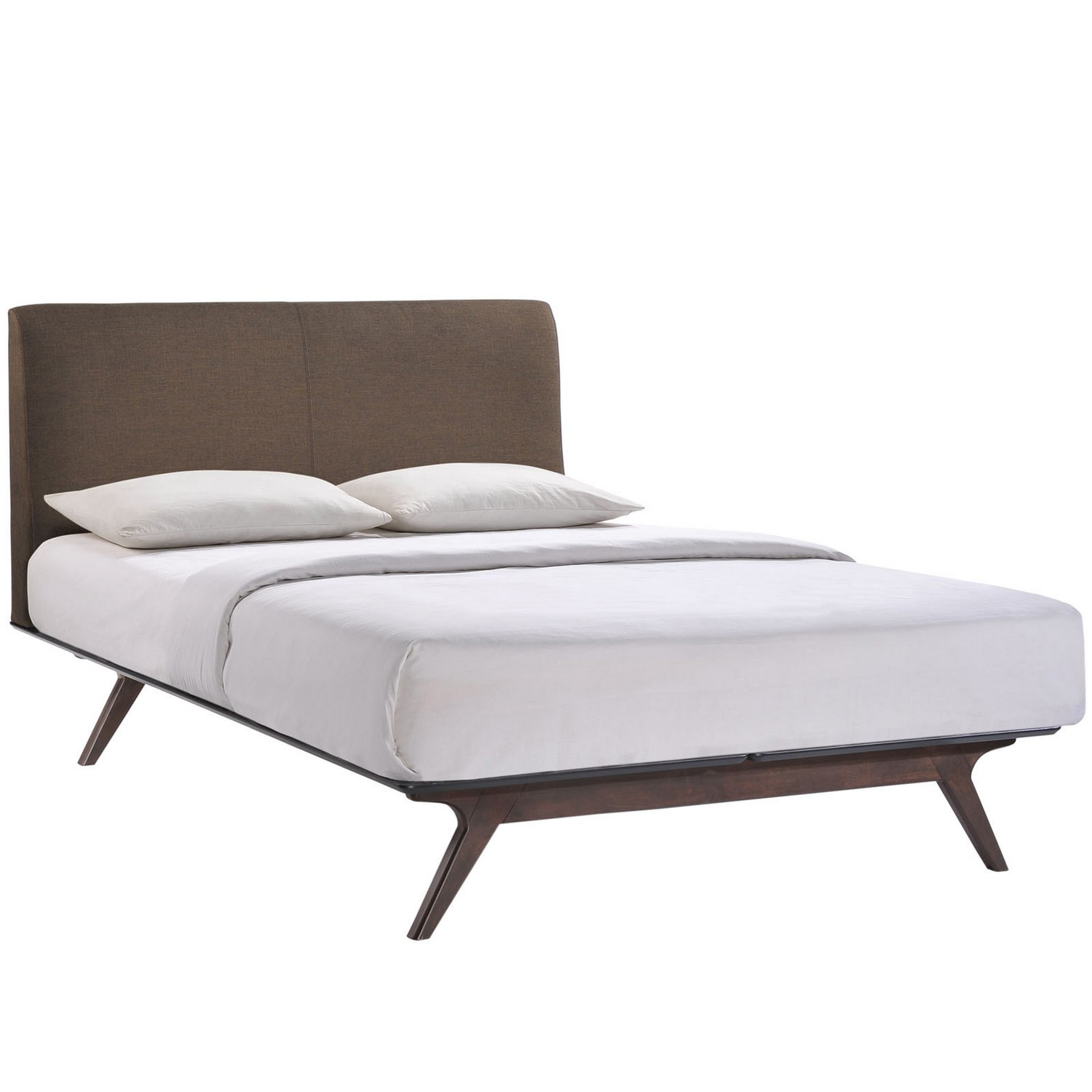 Modway Tracy Queen Bed - Cappuccino Brown