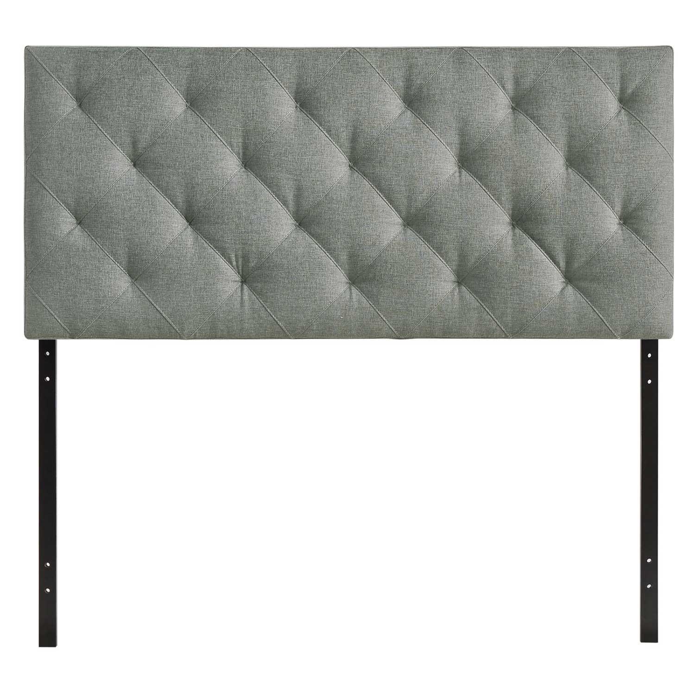 Modway Theodore Fabric Twin Headboard - Gray