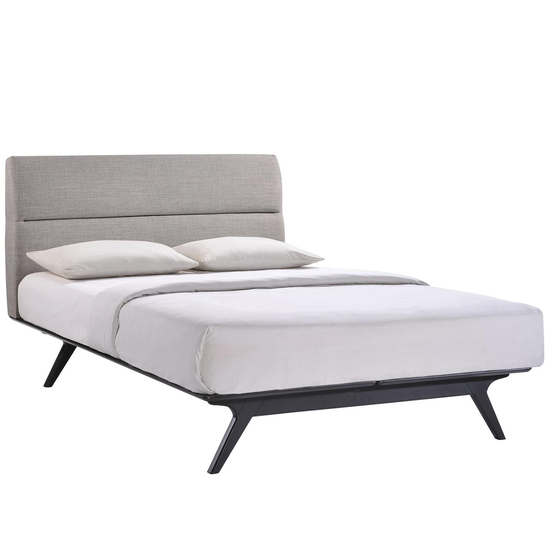 Modway Addison Bed - Black Gray
