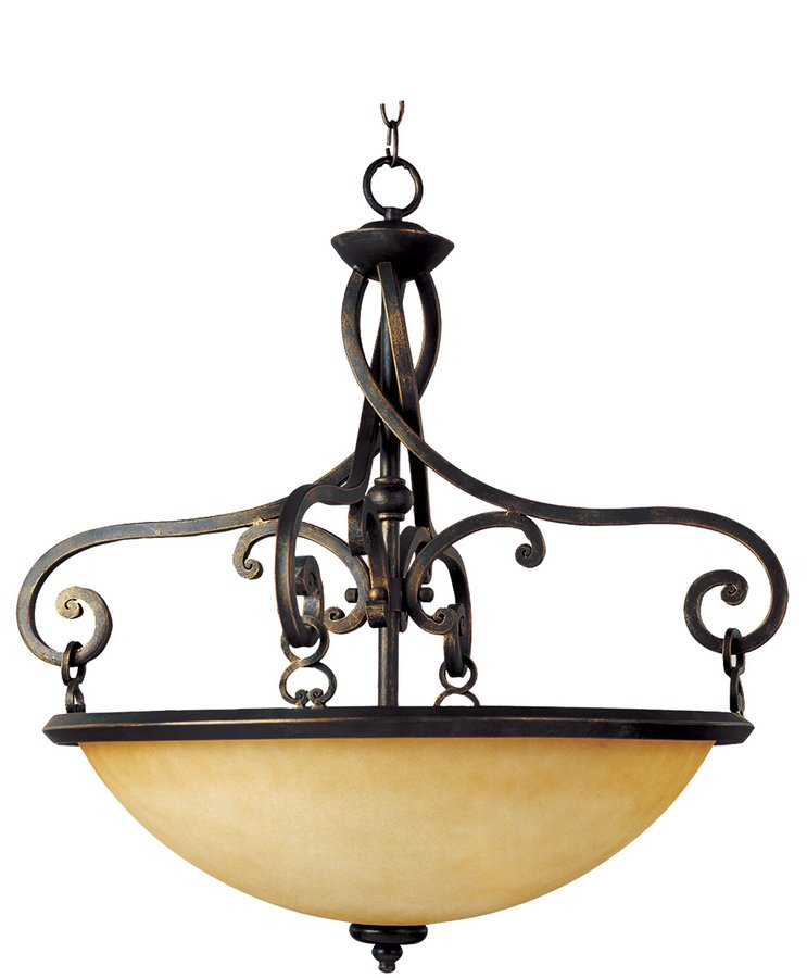 Maxim Lighting International Portello 3 Lt Pendant 11743WSMA