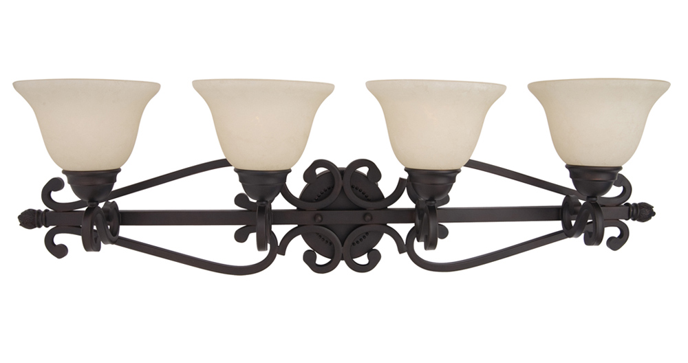 Maxim Lighting International Manor 4 Lt. Vanity