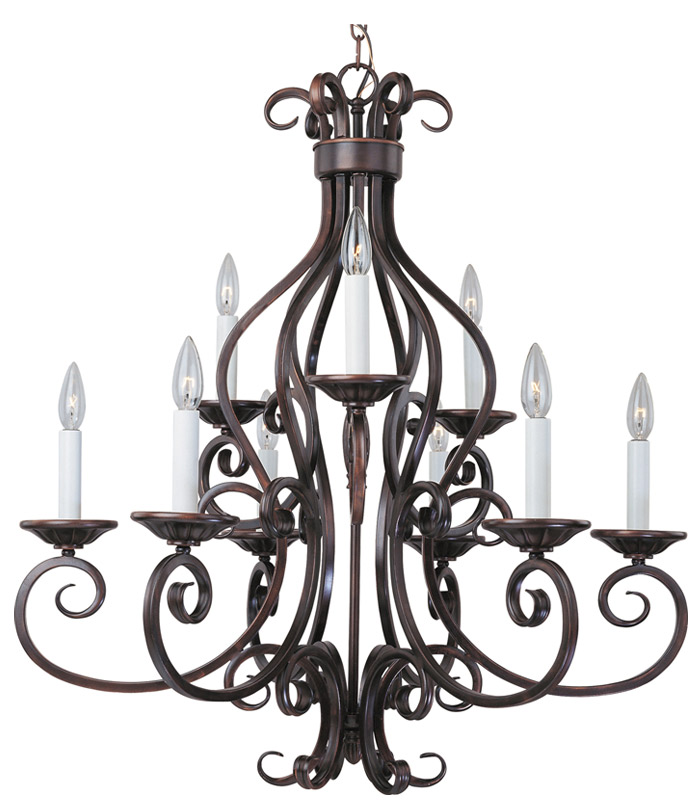 Maxim Lighting International Manor 6 - 3 Lt. Chandelier