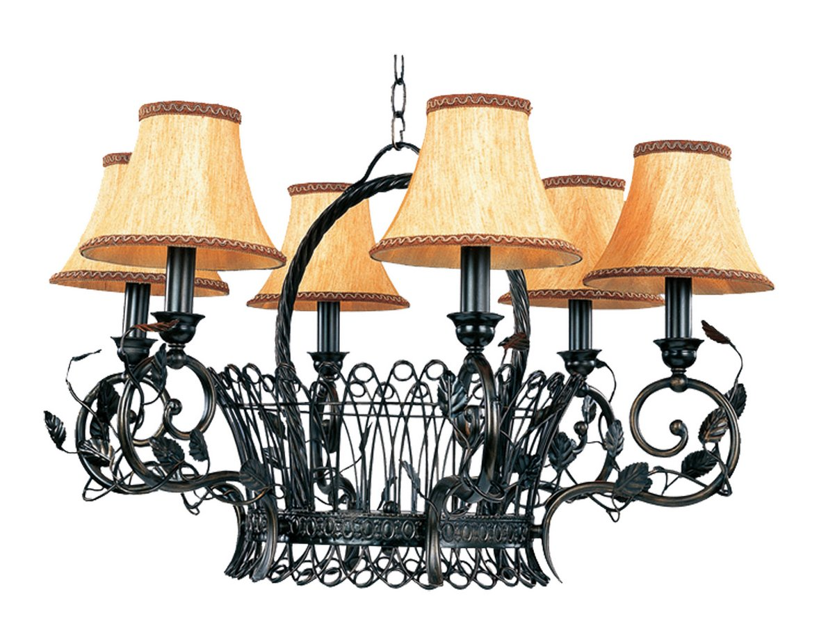 country style chandeliers shades