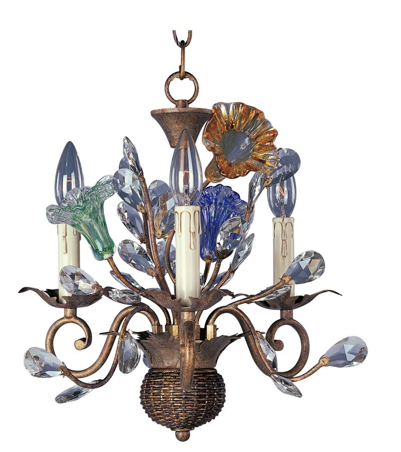 Maxim Lighting International Spring Blossoms 3 Lt Chandelier