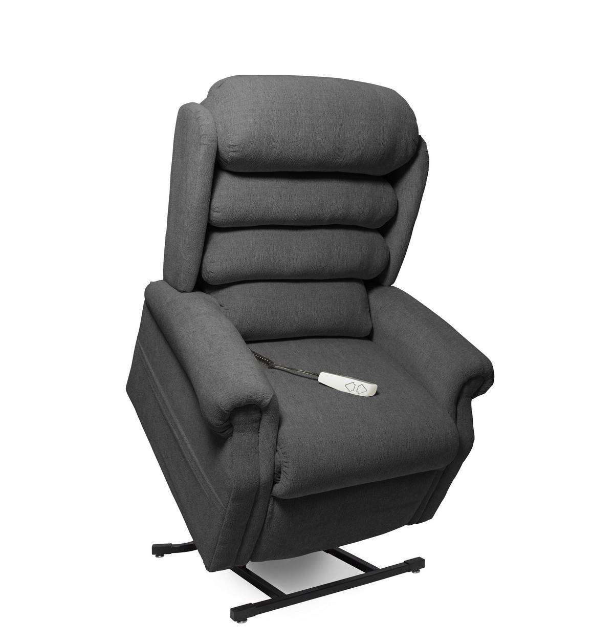 Mega Motion NM1950 Stellar 3-Position Power Lift Chaise Recliner - Charcoal