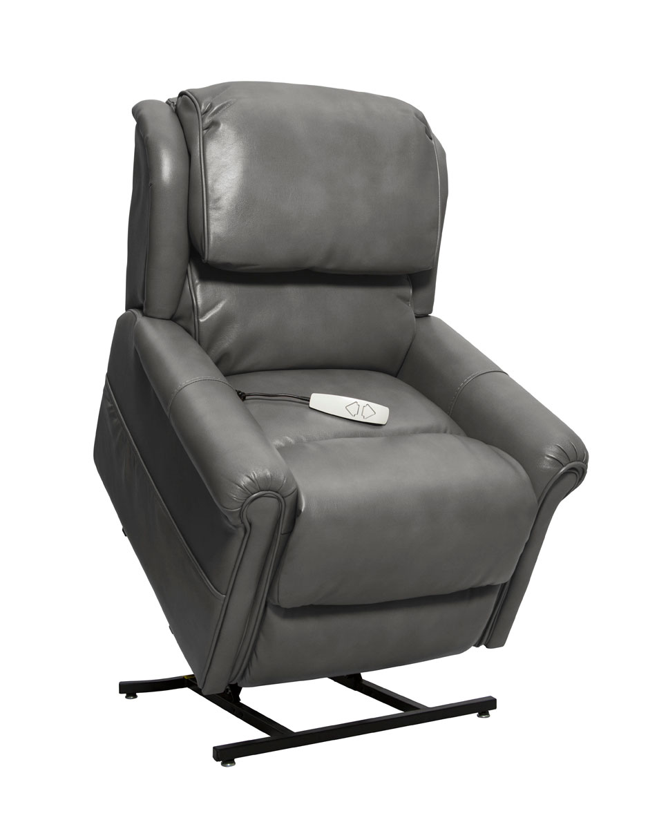 Mega Motion NM2350 Uptown 3-Position Power Lift Chaise Recliner - Slate