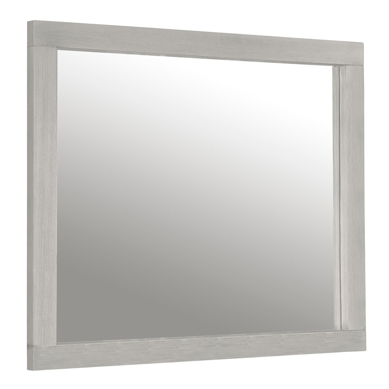 NE Kids Highlandds Mirror - White Finish