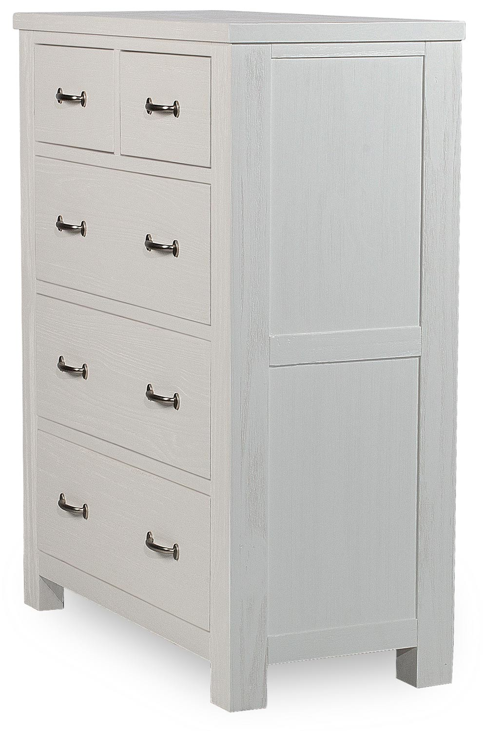 NE Kids Highlands 5 Drawer Chest - White Finish