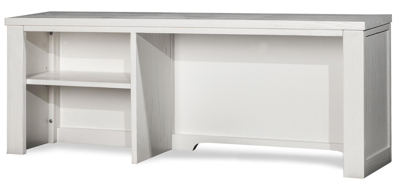 NE Kids Highlands Desk Hutch - White Finish