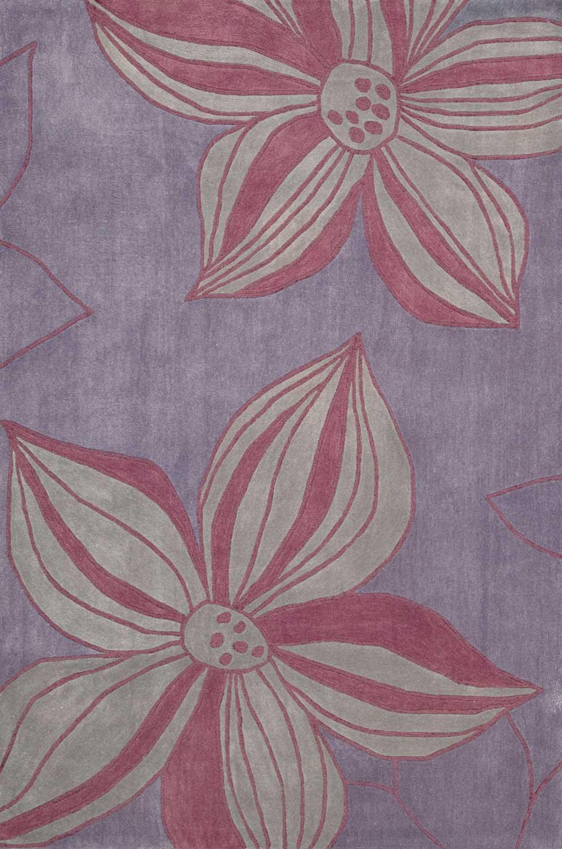 Nourison Contour CON19 Violet Area Rug