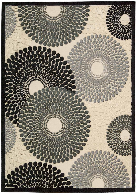 Nourison Graphic Illusions GIL04 Parch Area Rug