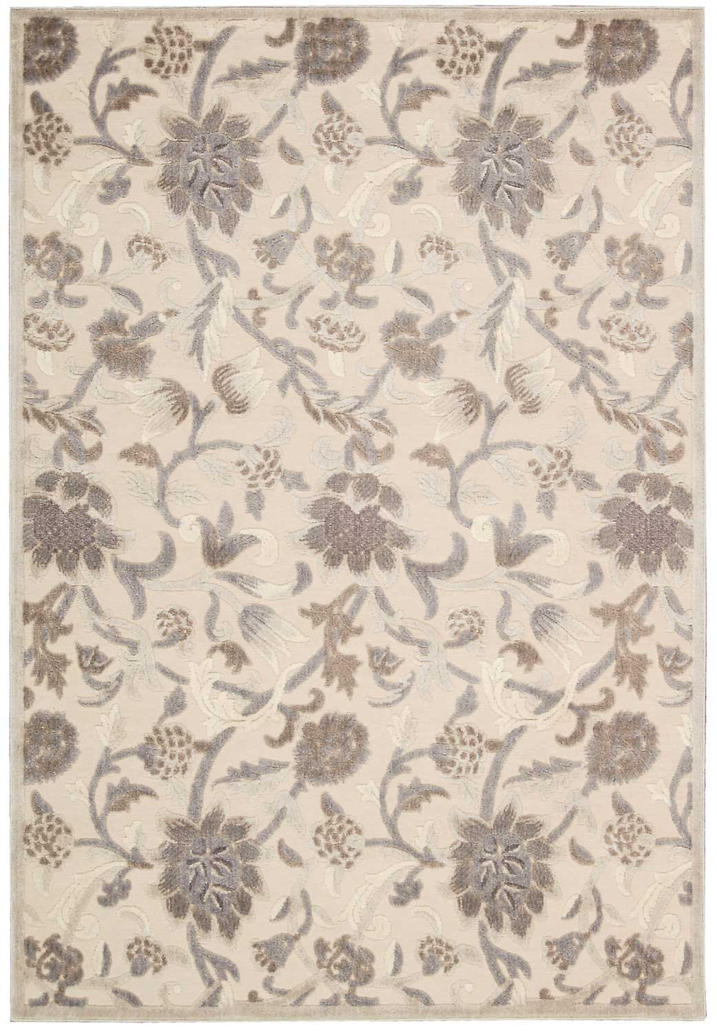 Nourison Graphic Illusions GIL06 Ivory Area Rug