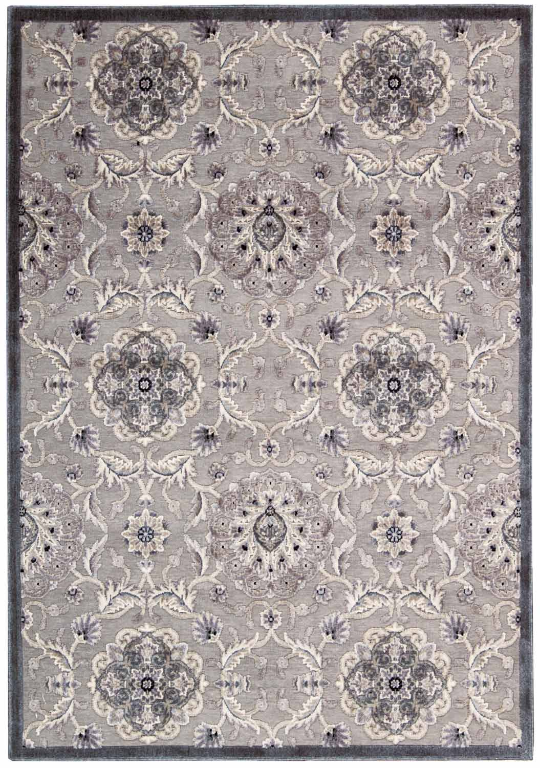 Nourison Graphic Illusions GIL12 Grey Area Rug