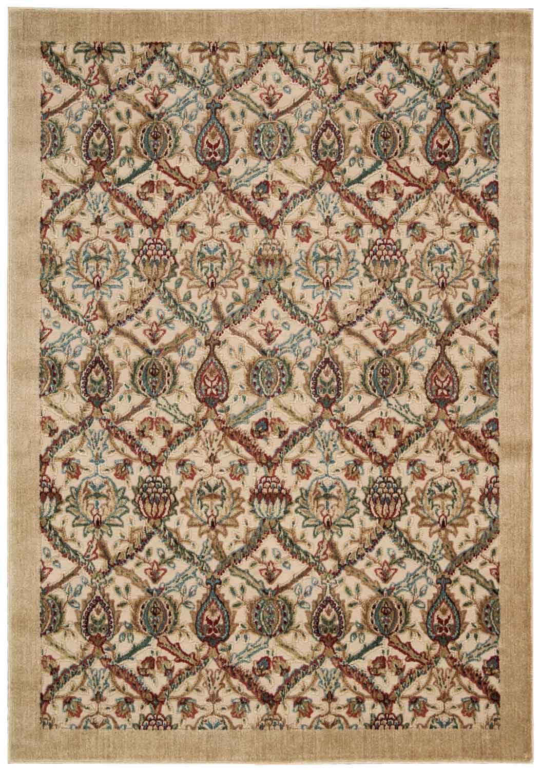 Nourison Graphic Illusions GIL15 Light Gold Area Rug