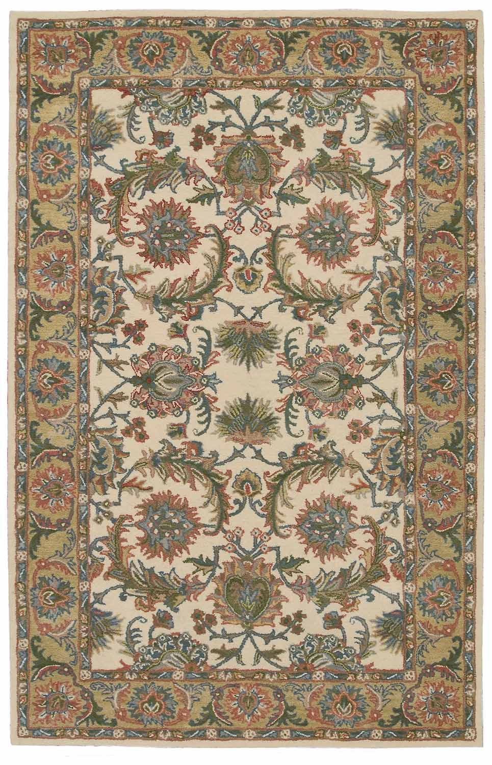 Nourison India House IH05 Ivory/gold Area Rug