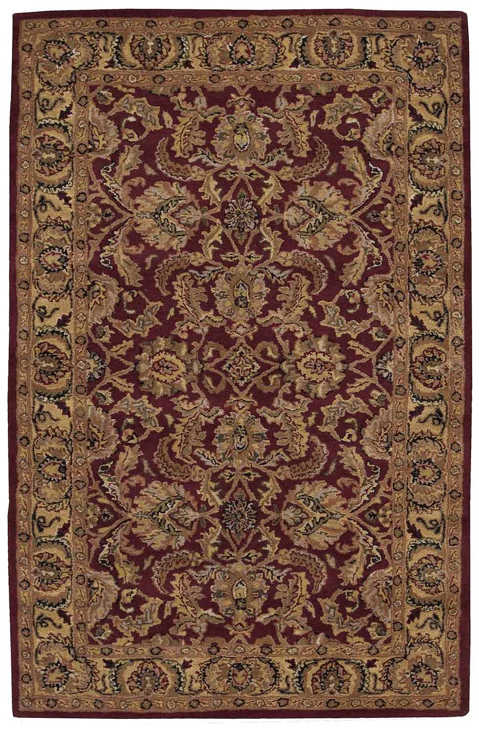 Nourison India House IH17 Burgundy Area Rug