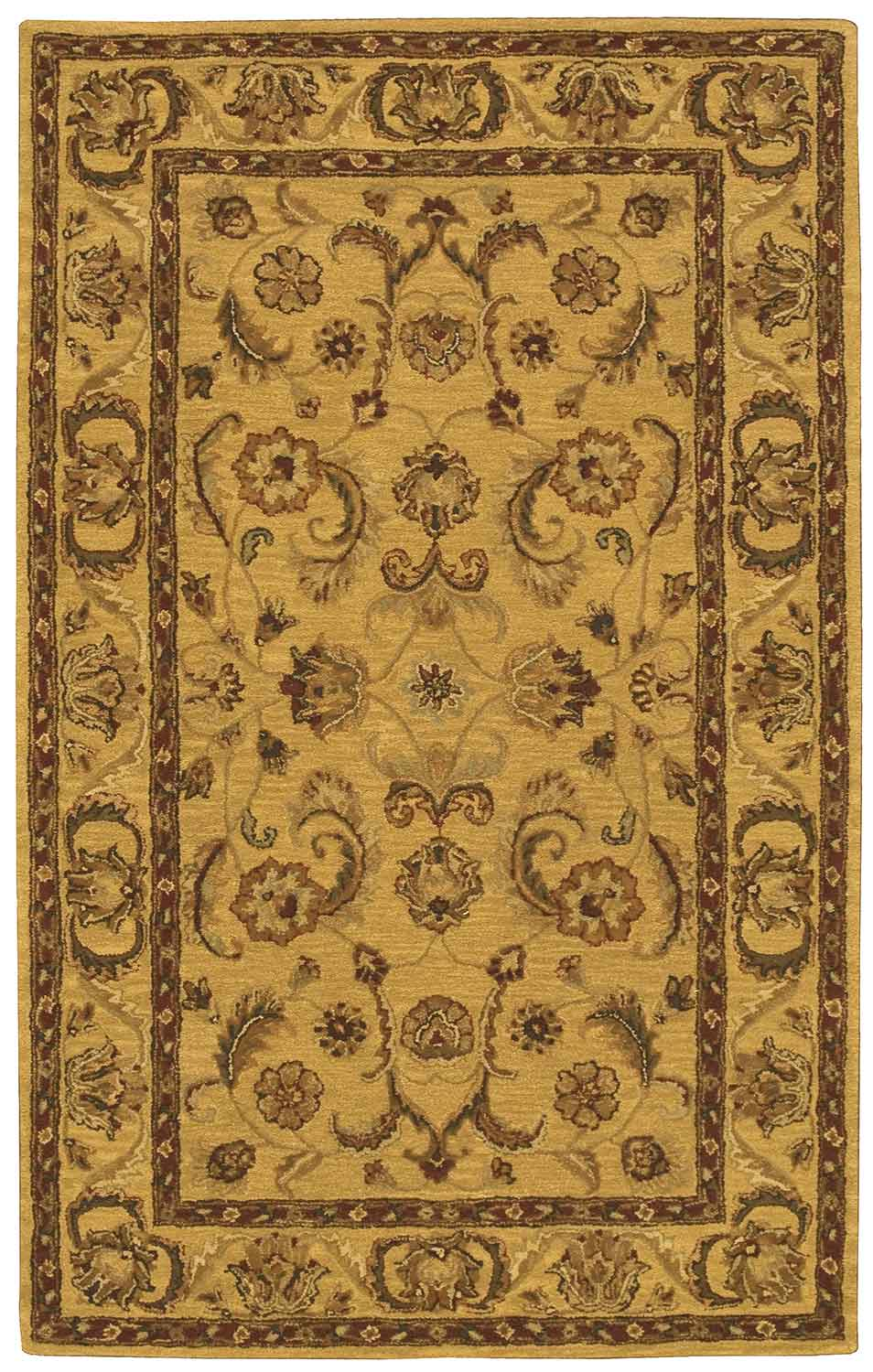 Nourison India House IH19 Gold Area Rug