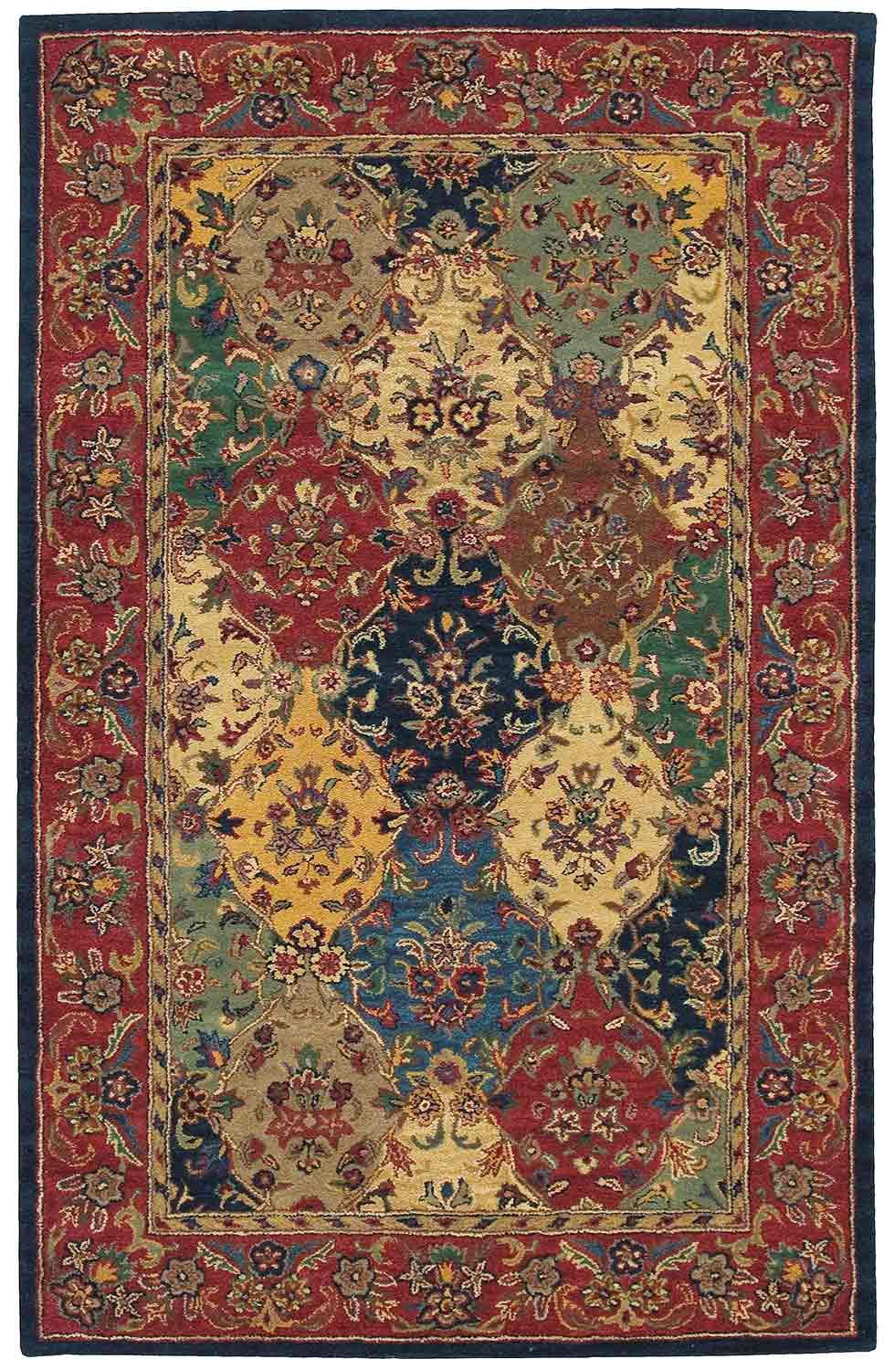 Nourison India House IH23 Multi Color Area Rug