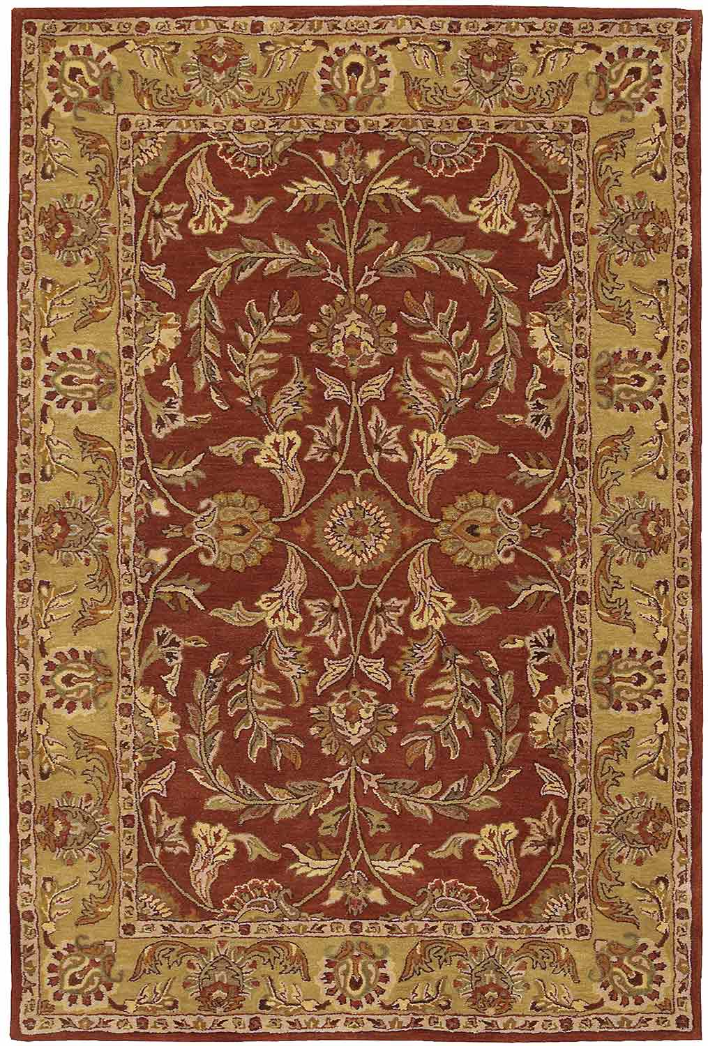 Nourison India House IH58 Rust Area Rug