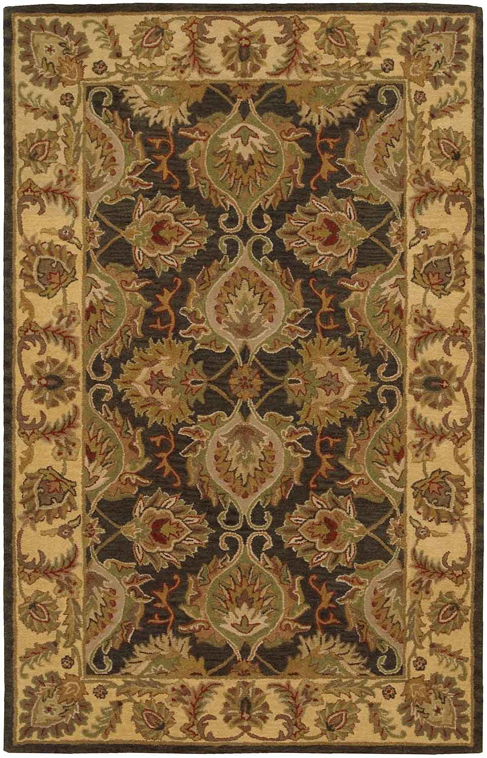 Nourison India House IH59 Green Area Rug INDIA-HOUSE-IH59-GREEN