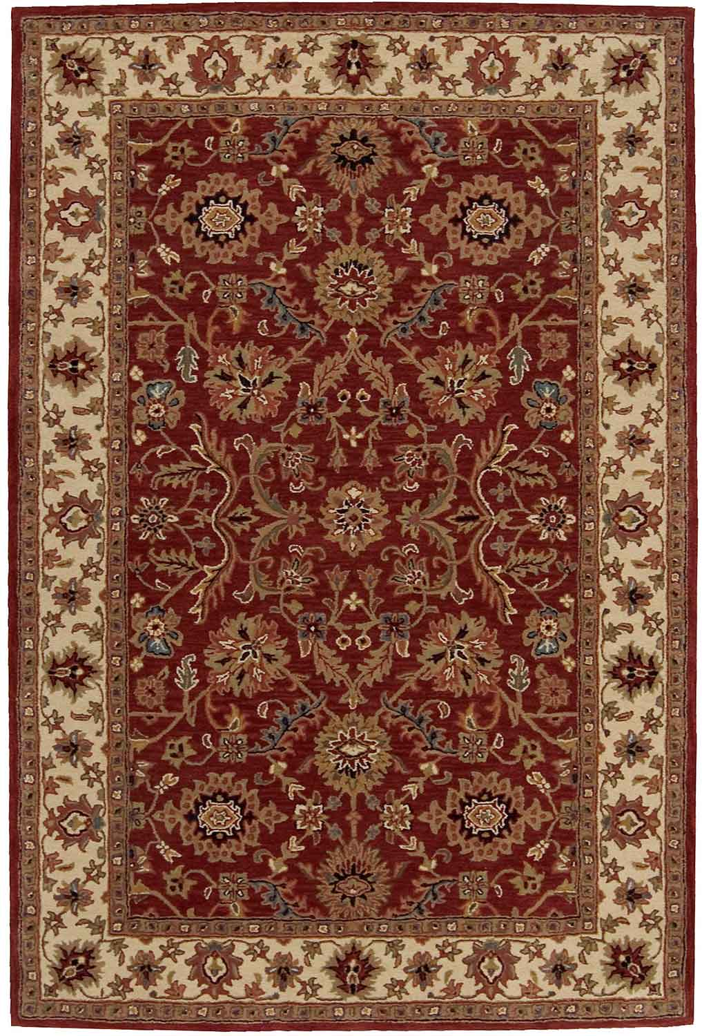 Nourison India House IH61 Brick Area Rug