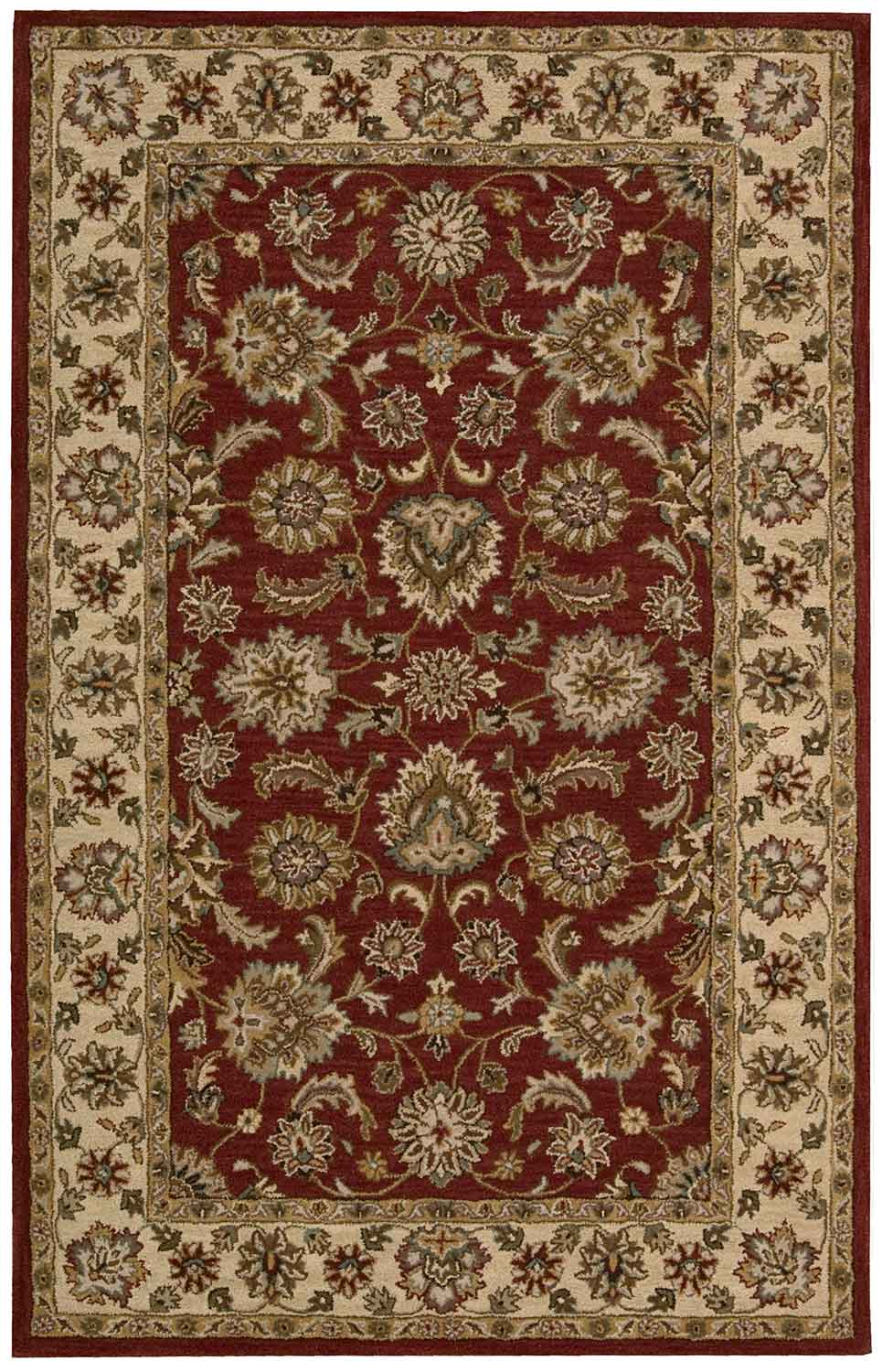 Nourison India House IH72 Red Area Rug