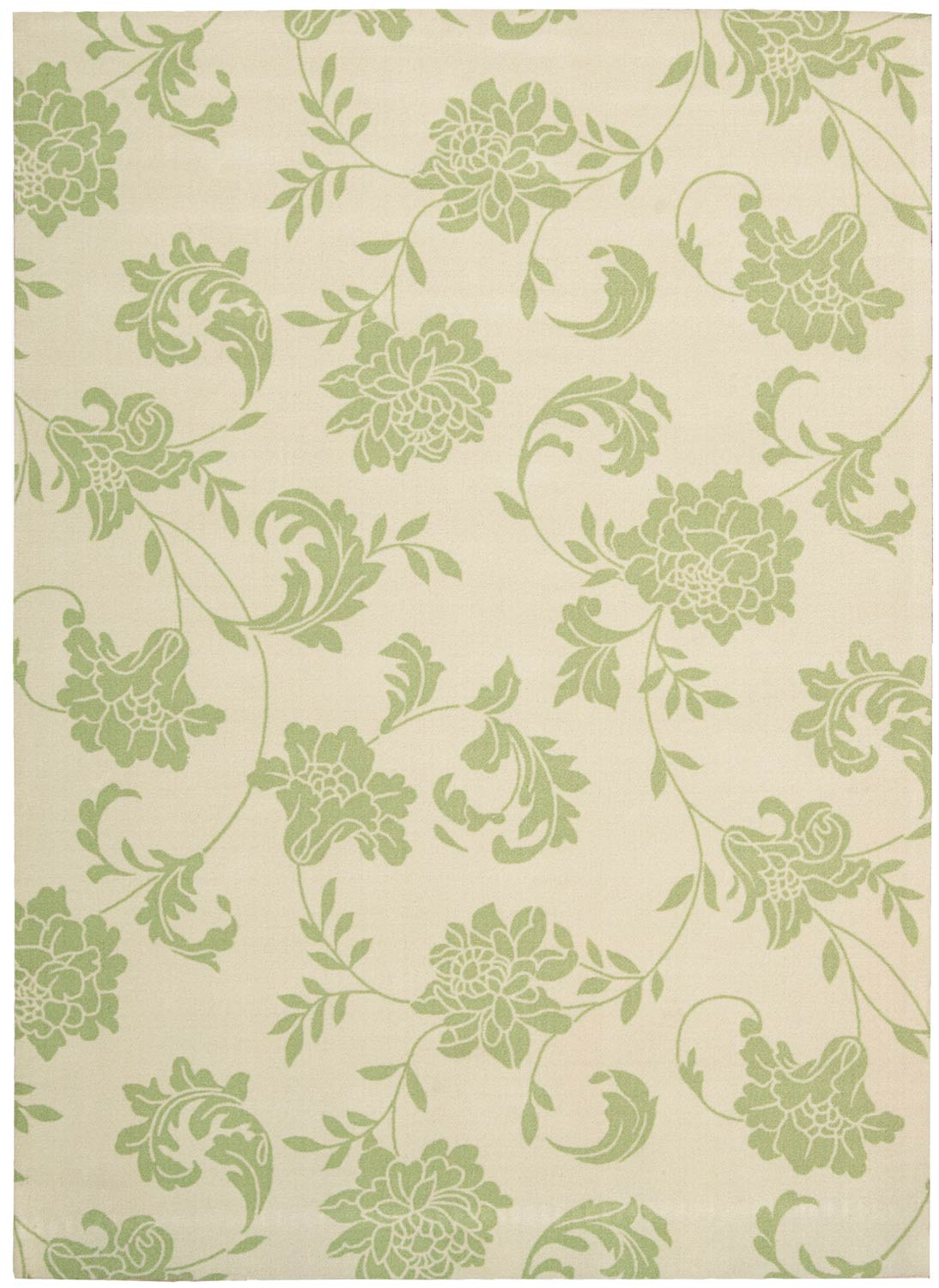 Nourison Home and Garden RS014 Green Area Rug