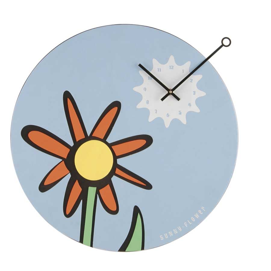 Playing Time Sunflower Foam Wall Clock-Nextime