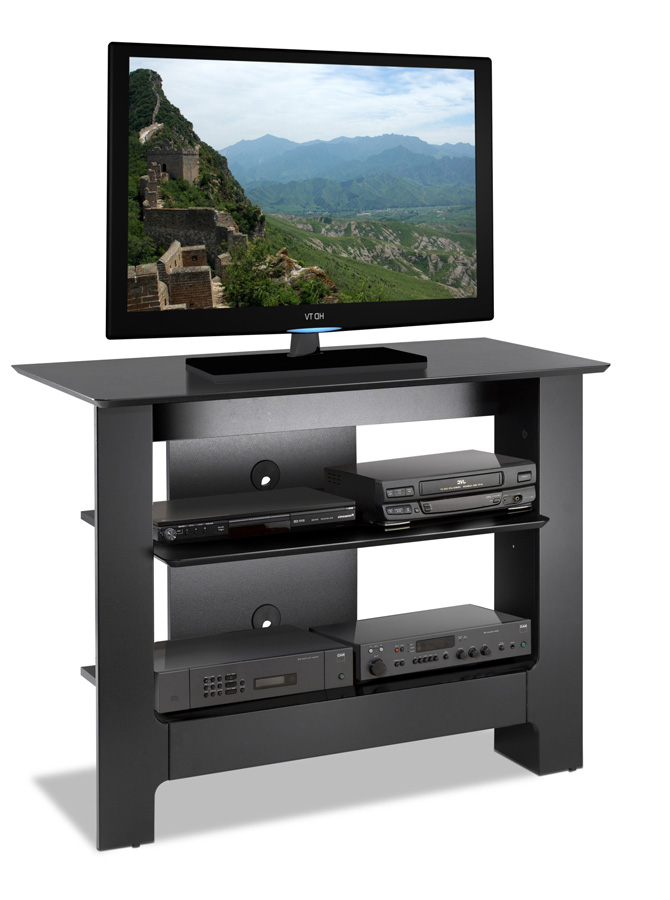 Nexera Alpine Tall TV Console