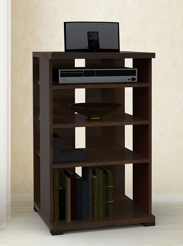 Nexera Jasper Tall Audio Cabinet