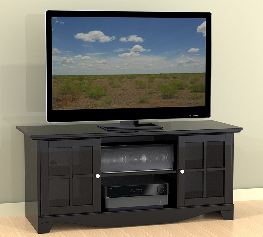 Nexera Pinnacle 56 inch TV Console for Center Channels