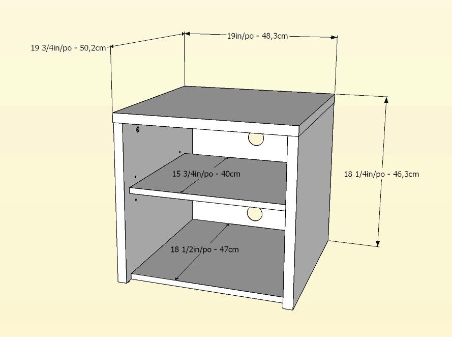 Nexera Liber-T Media Storage Unit