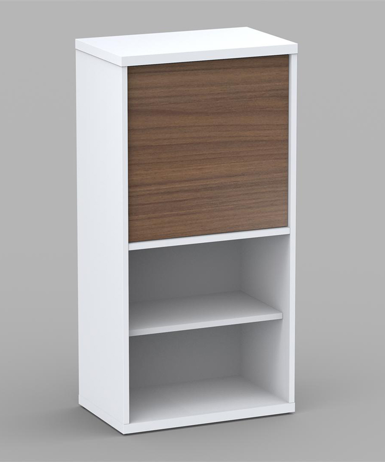 Nexera Liber-T 38 inch 1 Door Bookcase