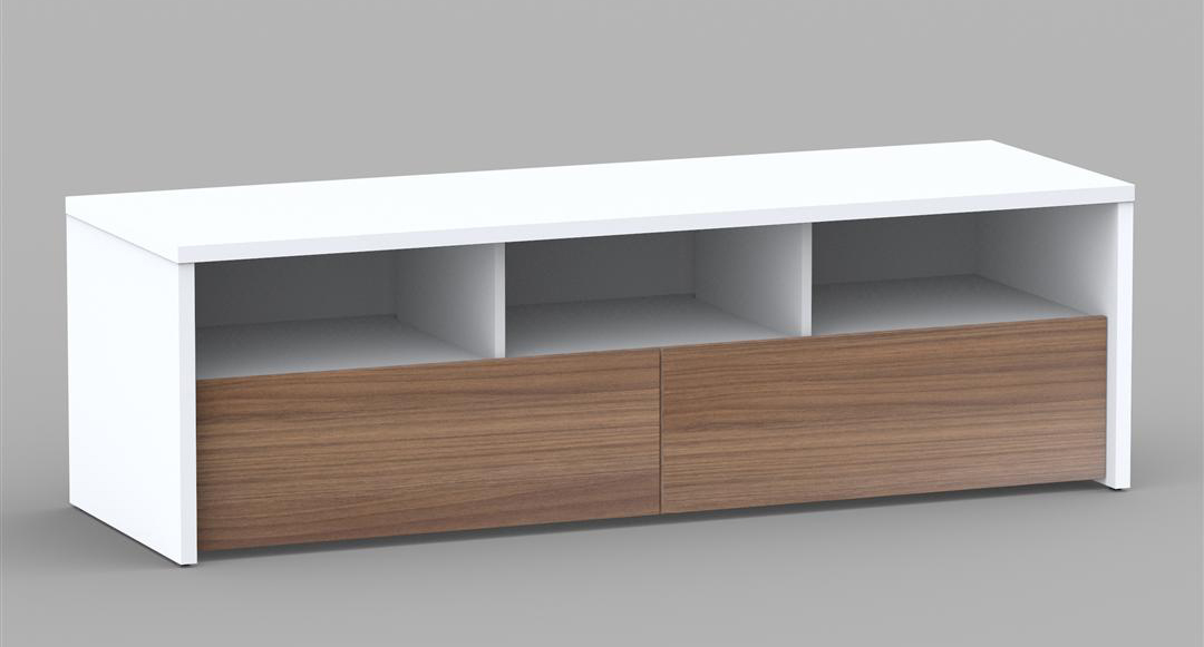 Nexera Liber-T 60 inch 2 Drawer TV Stand