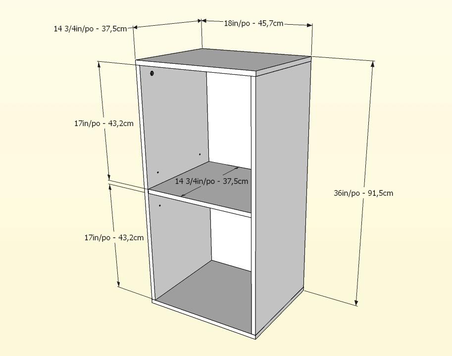 Nexera Allure 36 inch Storage Cabinet - Open
