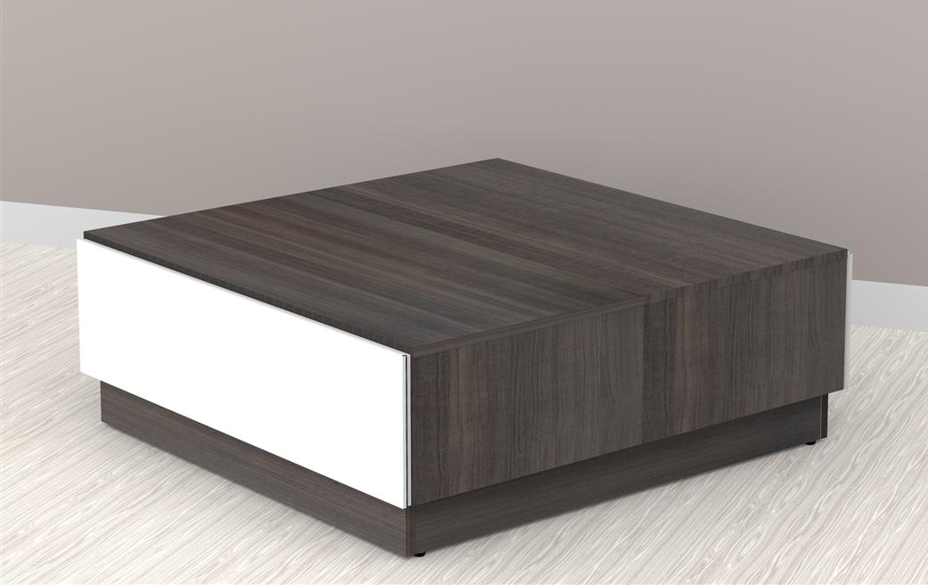 Nexera Allure Coffee Table With Hidden Storage 220733